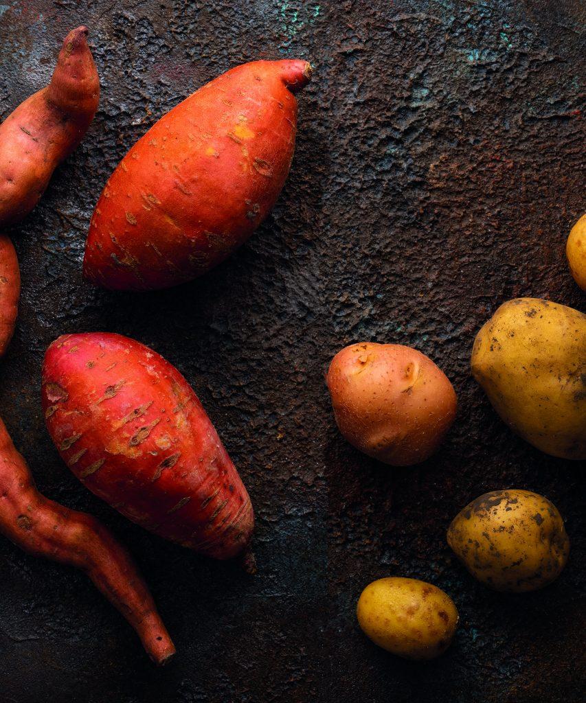 Aardappelen voor kroketjes